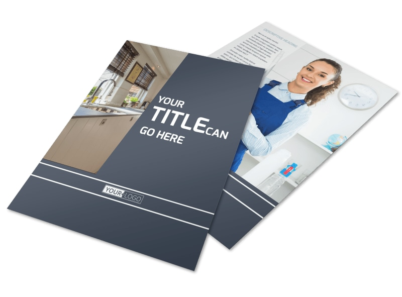 Apartment Cleaning Flyer Template