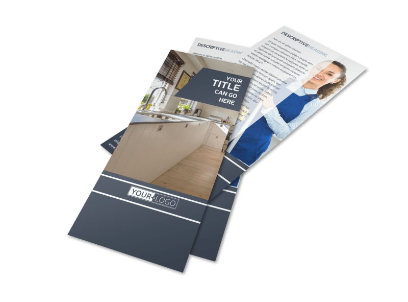 Apartment Cleaning Flyer Template 2