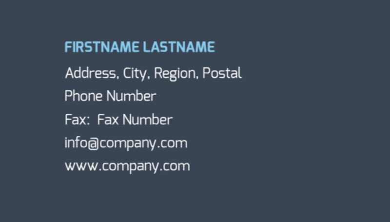 Apartment Cleaning Business Card Template Preview 3