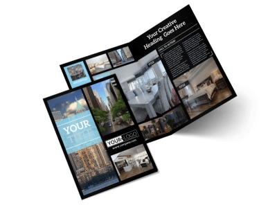 Urban Real Estate Brochure Template MyCreativeShop - Real estate brochure templates