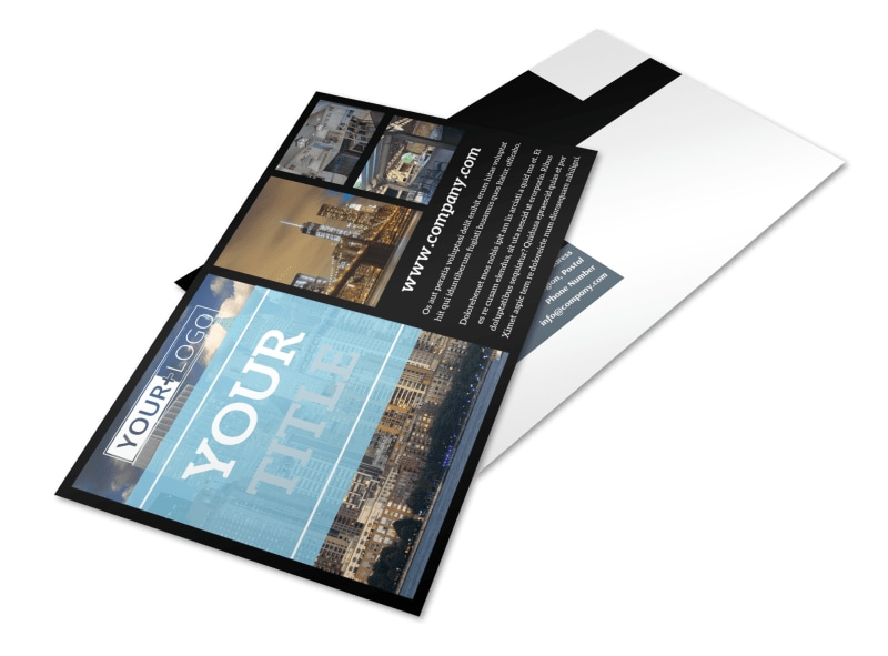 Urban Real Estate Postcard Template 2