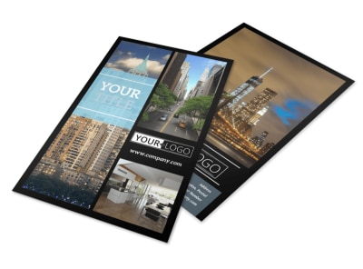 Urban Real Estate Flyer Template 3