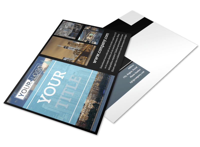 Urban Real Estate Postcard Template Preview 1