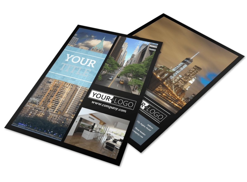 Urban Real Estate Brochure Template | Mycreativeshop