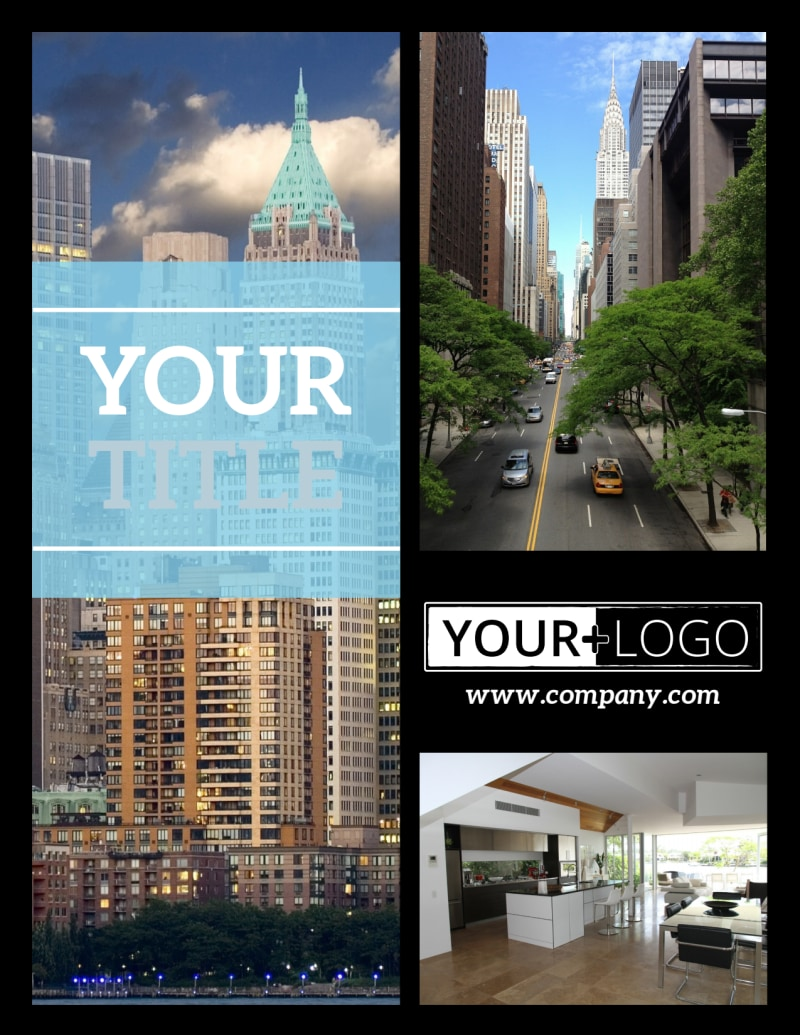 Urban Real Estate Flyer Template Preview 2