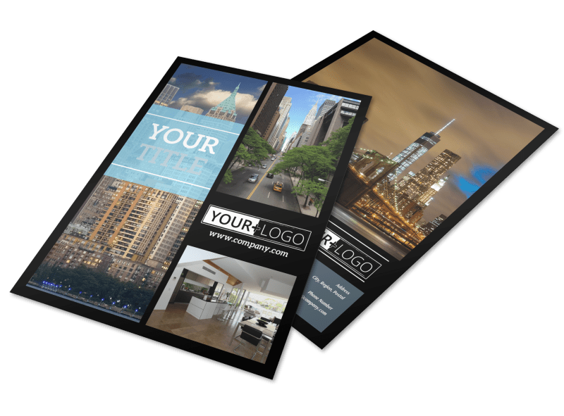 Urban Real Estate Flyer Template Preview 1