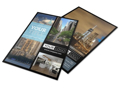 Urban Real Estate Flyer Template preview