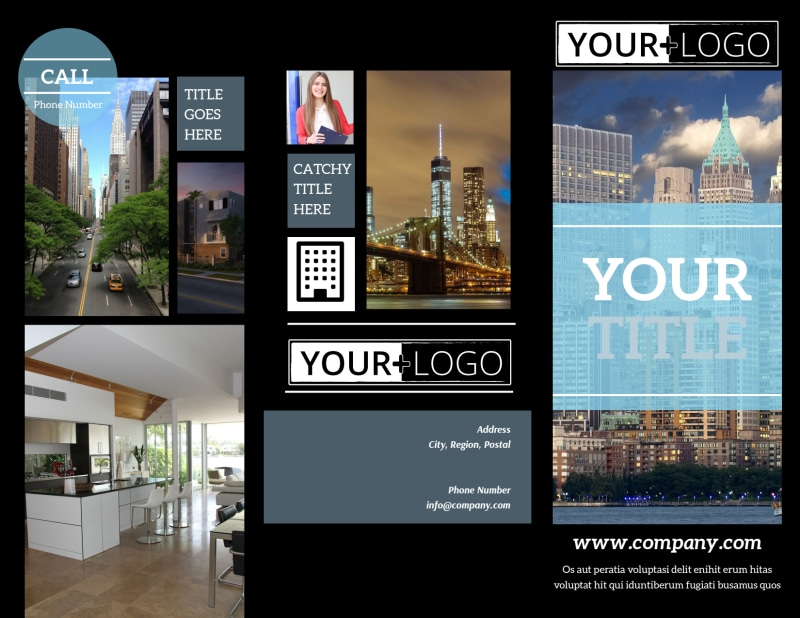 Urban Real Estate Brochure Template Preview 2