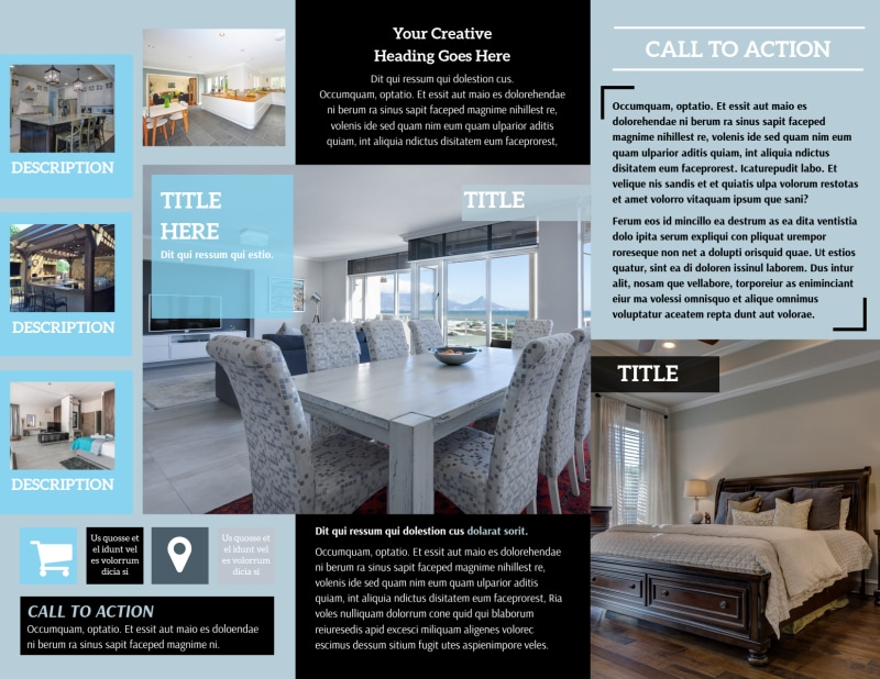Urban Real Estate Brochure Template Preview 3