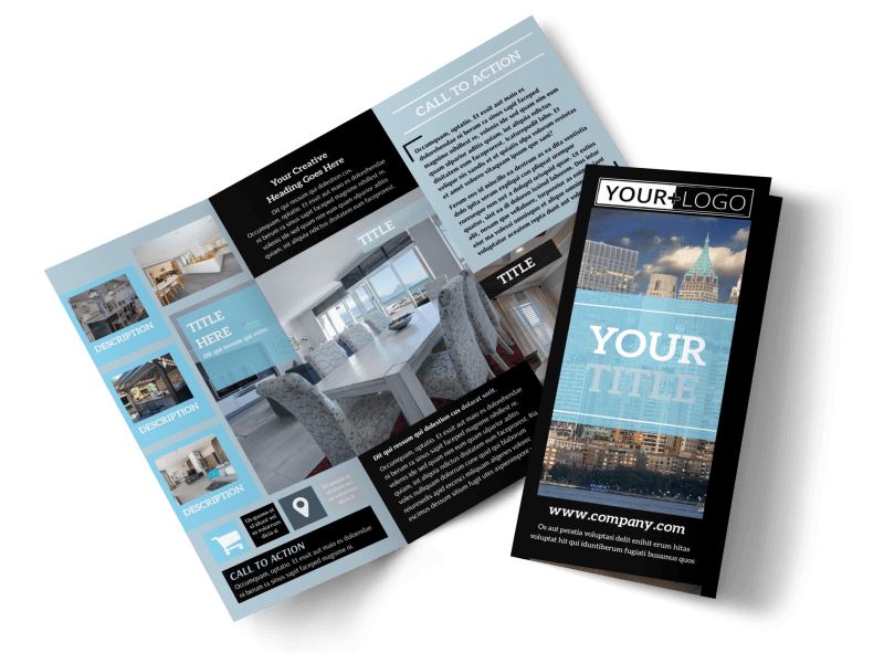 Urban Real Estate Brochure Template Preview 1