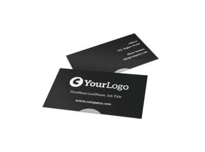 Generic Business Card Template 2932