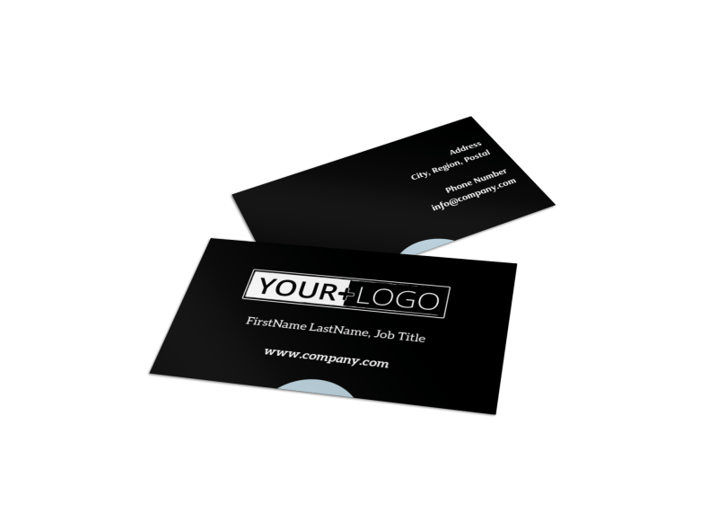 Urban Real Estate Business Card Template Preview 1