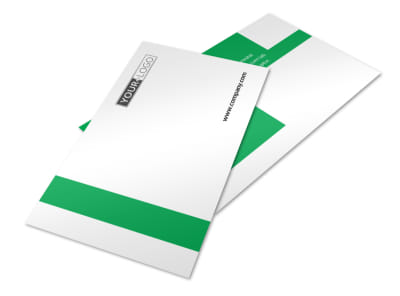 Green Cleaning Postcard Template 2