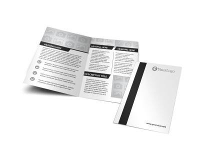 Generic Bi-Fold Brochure Template 2937