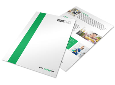 Green Cleaning Flyer Template