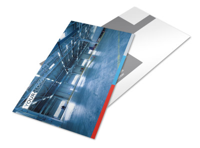 Industrial Cleaning Postcard Template 2 preview
