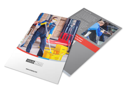 Industrial Cleaning Flyer Template 3
