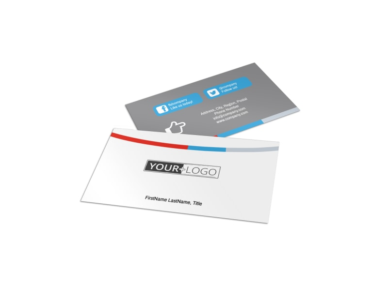 Industrial Cleaning Business Card Template