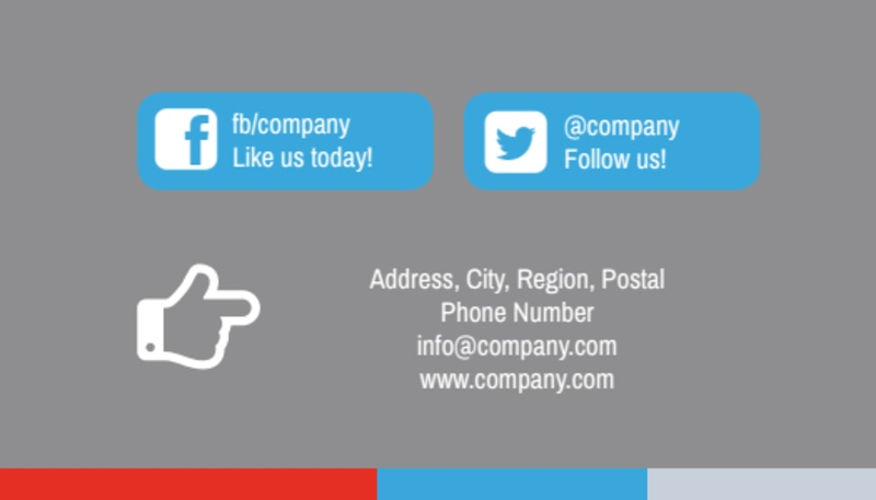 Industrial Cleaning Business Card Template Preview 3