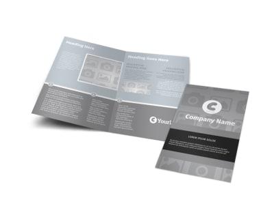Generic Bi-Fold Brochure Template 2955