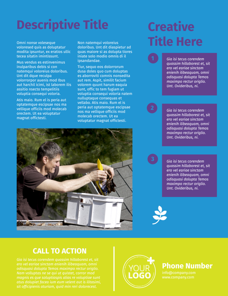 Roof Cleaning Flyer Template Preview 3