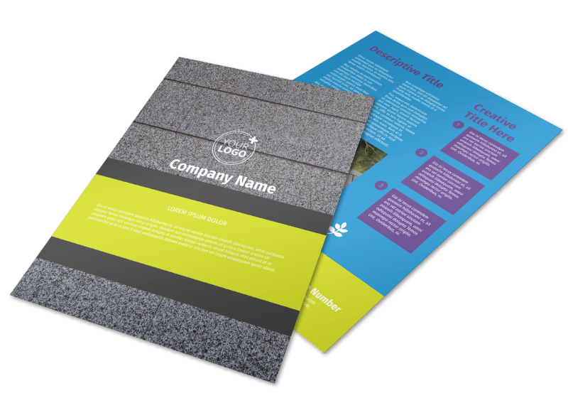 Roof Cleaning Flyer Template Preview 1