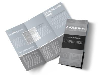 Generic Tri-Fold Brochure Template 2957
