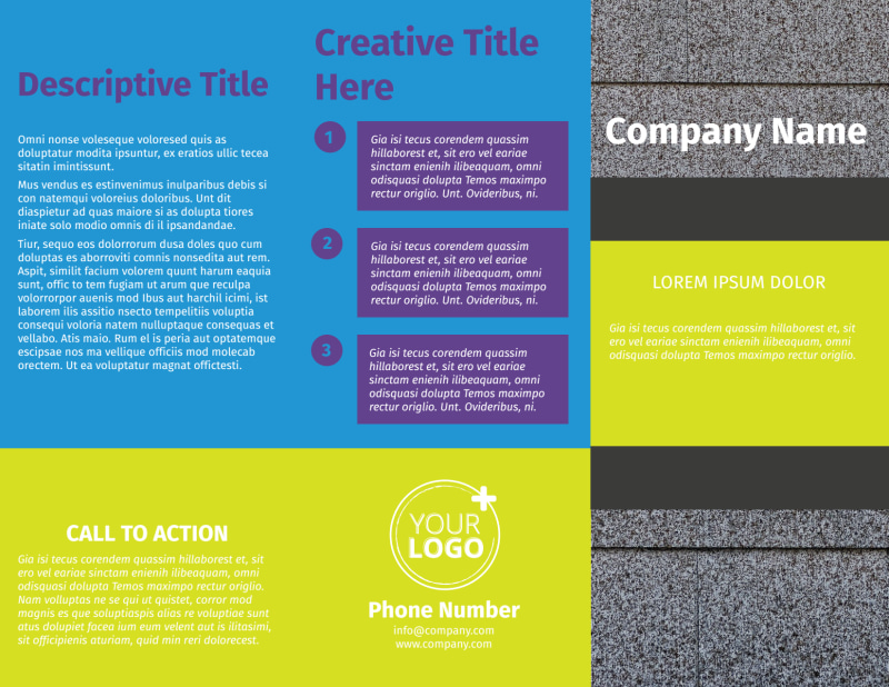 Roof Cleaning Brochure Template Preview 2