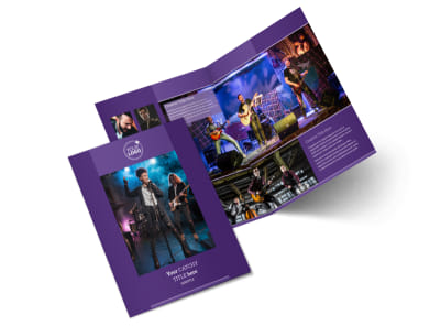 Music Concert Bi-Fold Brochure Template 2 preview