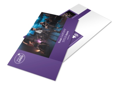 Music Concert Postcard Template 2