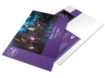 Music Concert Postcard Template preview