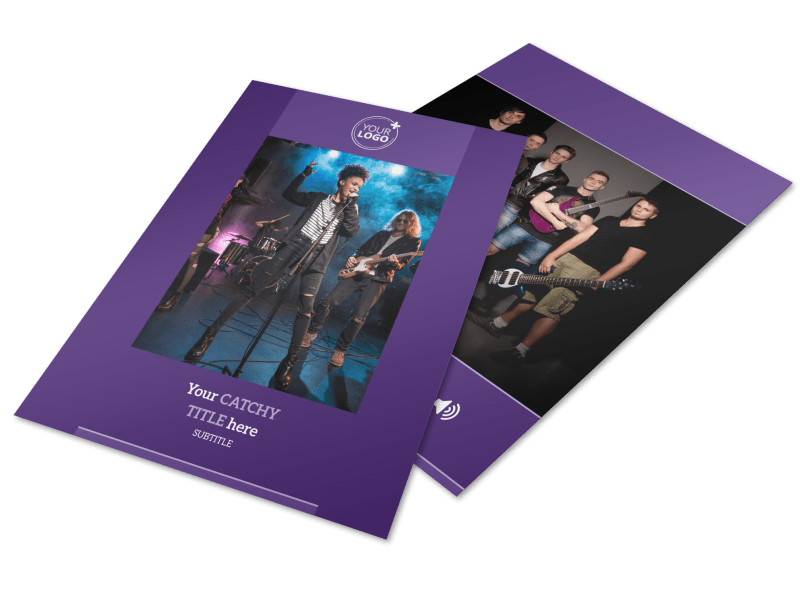 Music Concert Flyer Template Preview 1