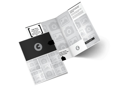 Generic Bi-Fold Brochure Template 2969