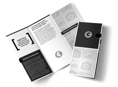 Generic Tri-Fold Brochure Template 2975