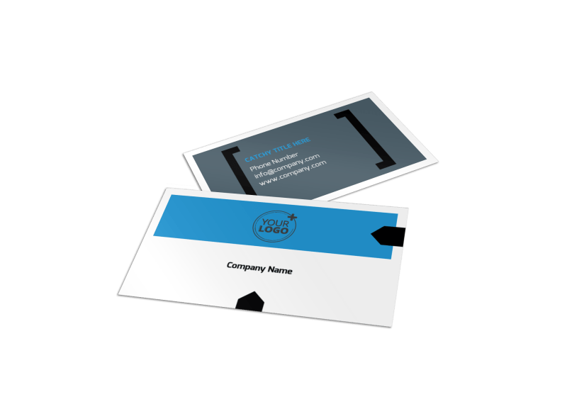 Live Music Band Business Card Template Preview 1