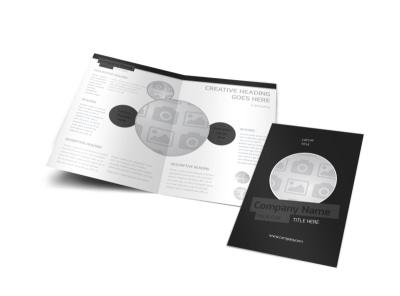 Generic Bi-Fold Brochure Template 2982 preview