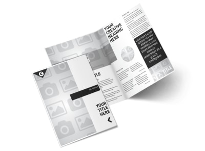Generic Bi-Fold Brochure Template 2987