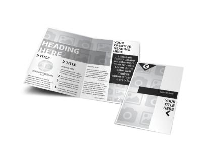 Generic Bi-Fold Brochure Template 2991