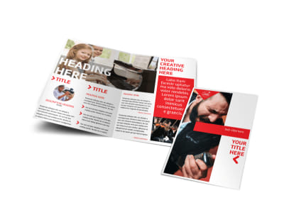 Music Lessons Brochure Template – Music Brochure