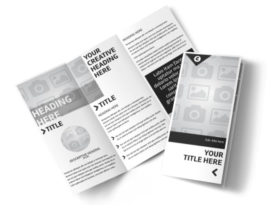 Generic Tri-Fold Brochure Template 2993