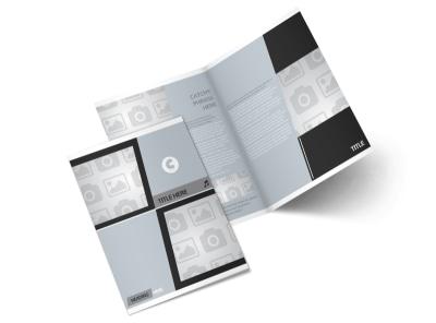 Generic Bi-Fold Brochure Template 2996