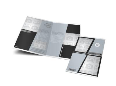 Generic Bi-Fold Brochure Template 3000