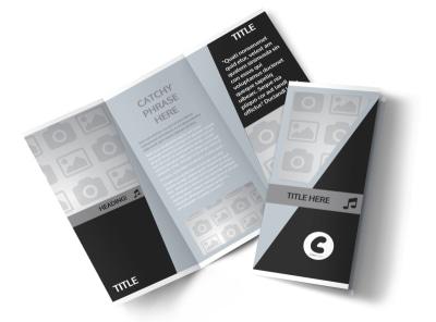 Generic Tri-Fold Brochure Template 3002