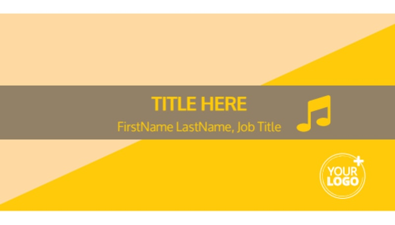 Jazz Band Business Card Template Preview 2