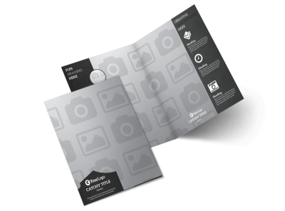 Generic Bi-Fold Brochure Template 3005