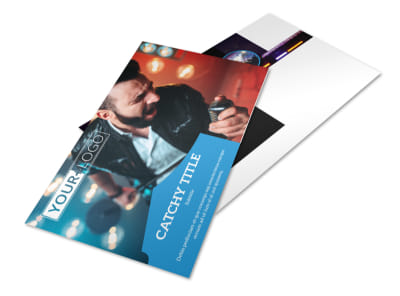 Live Music Concert Postcard Template 2 preview