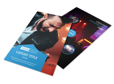 Live Music Concert Flyer Template 3 preview