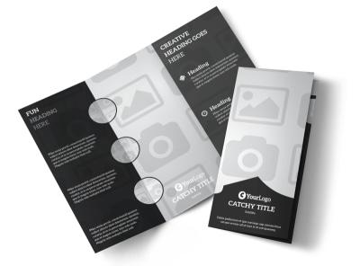 Generic Tri-Fold Brochure Template 3011