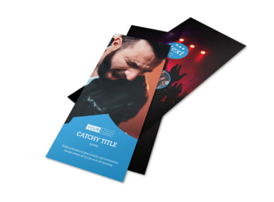 Live Music Concert Flyer Template 2 preview