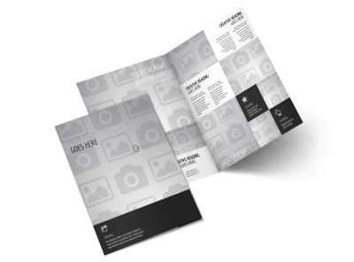 Generic Bi-Fold Brochure Template 3014